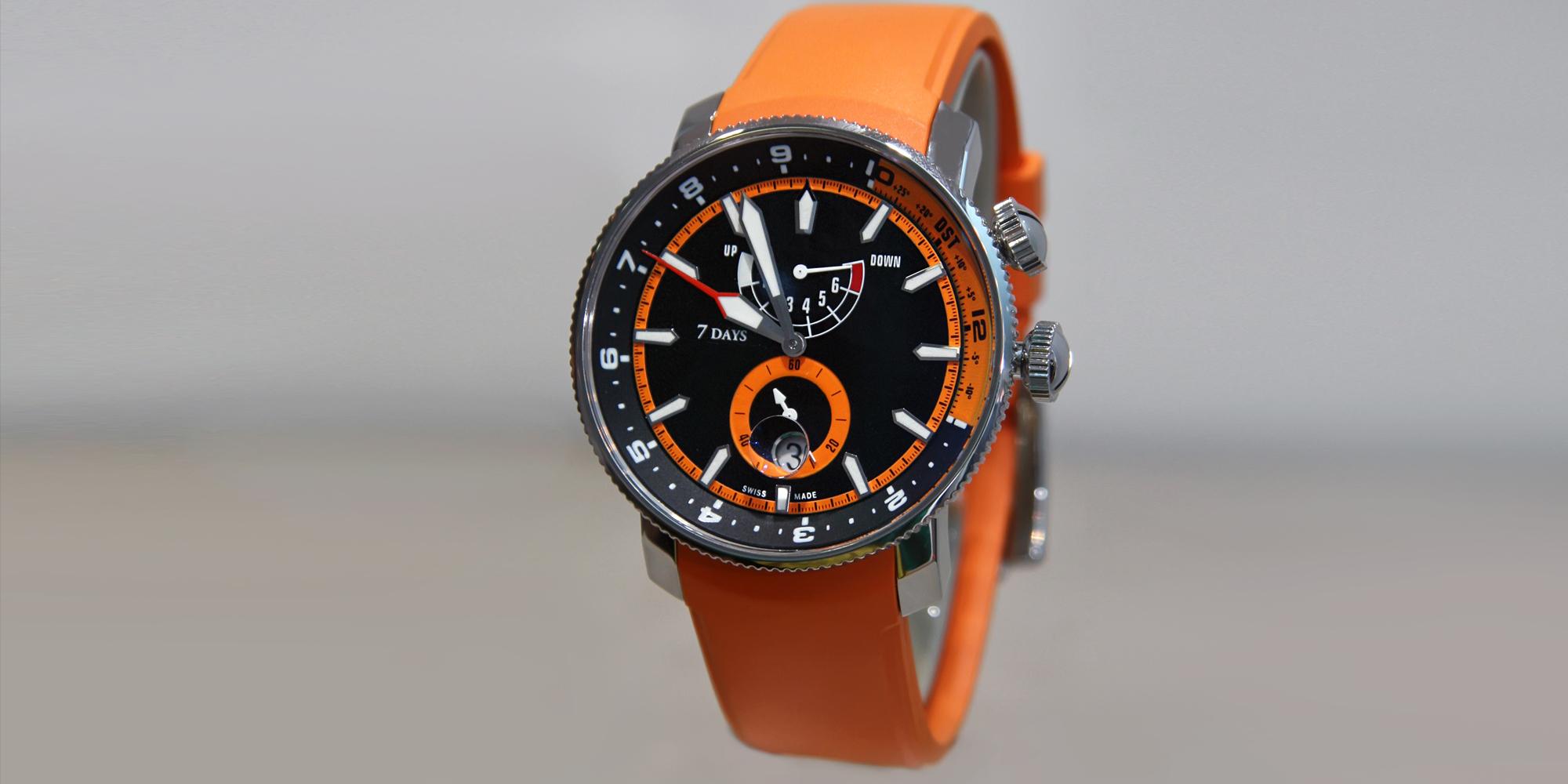 Timepiece – Orange Glow
